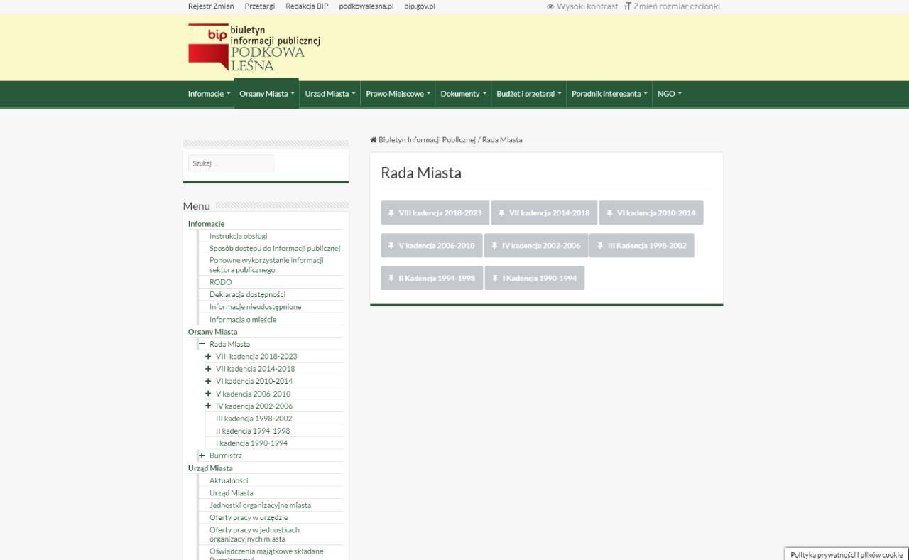 ROAN24 BIP Podkowa Forest byråd