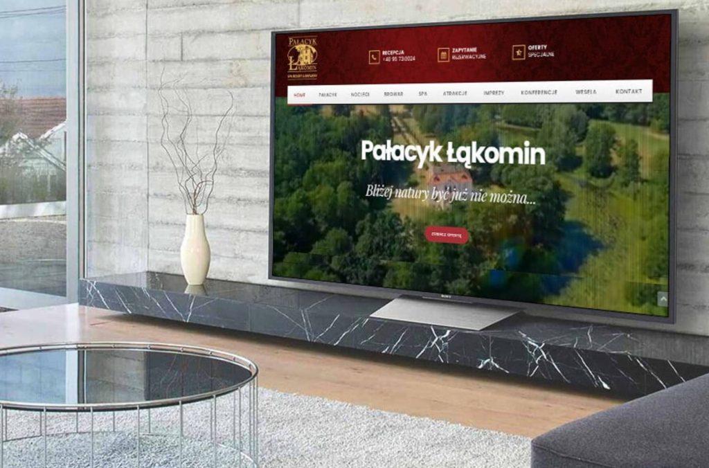 ROAN24 Pałacyk Łąkomin-websted