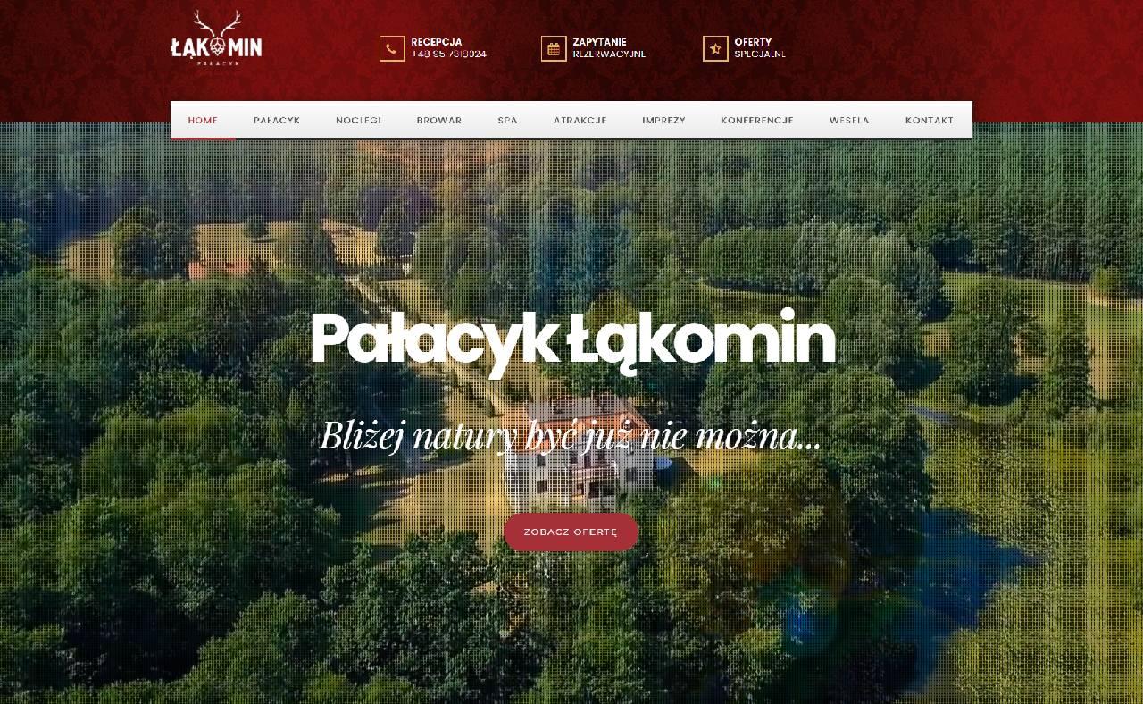 ROAN24 Pałacyk Łąkomin HJEM Hjemmeside