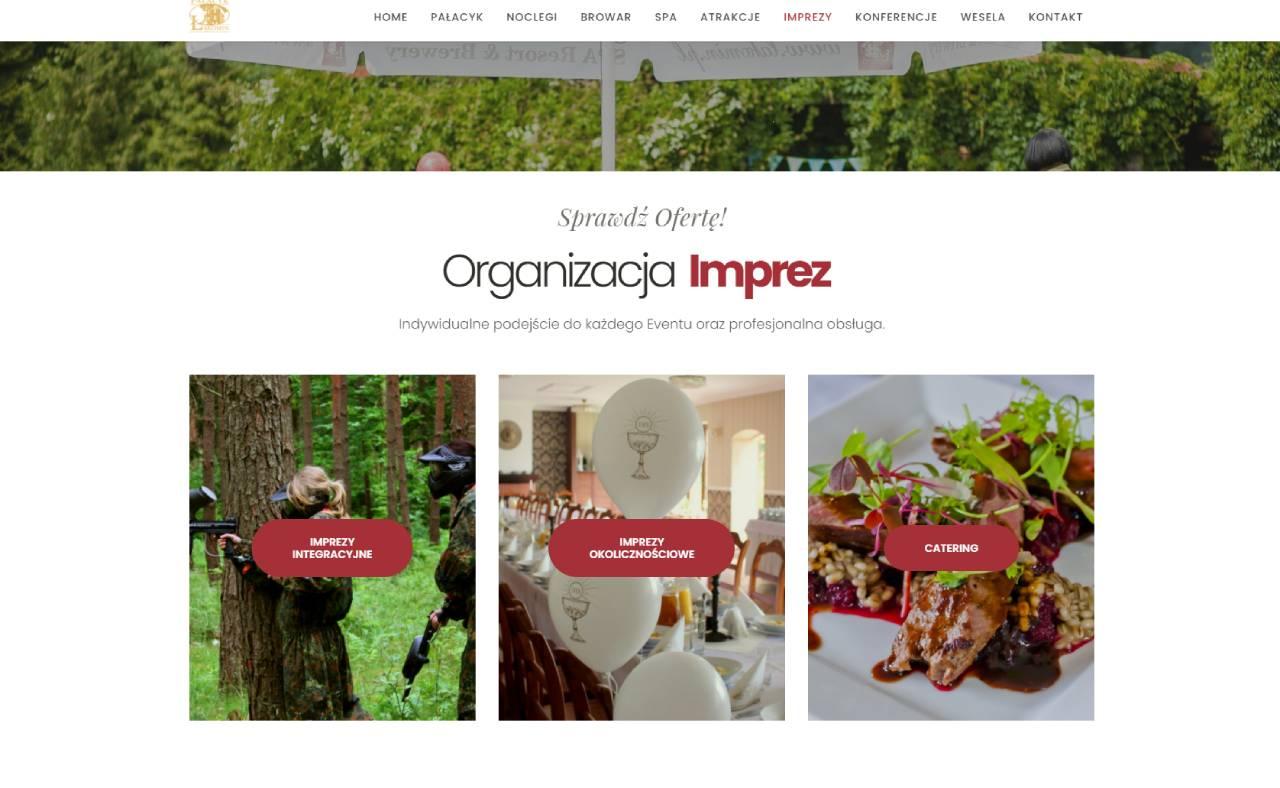 ROAN24 Pałacyk Łąkomin Begivenhedens websted