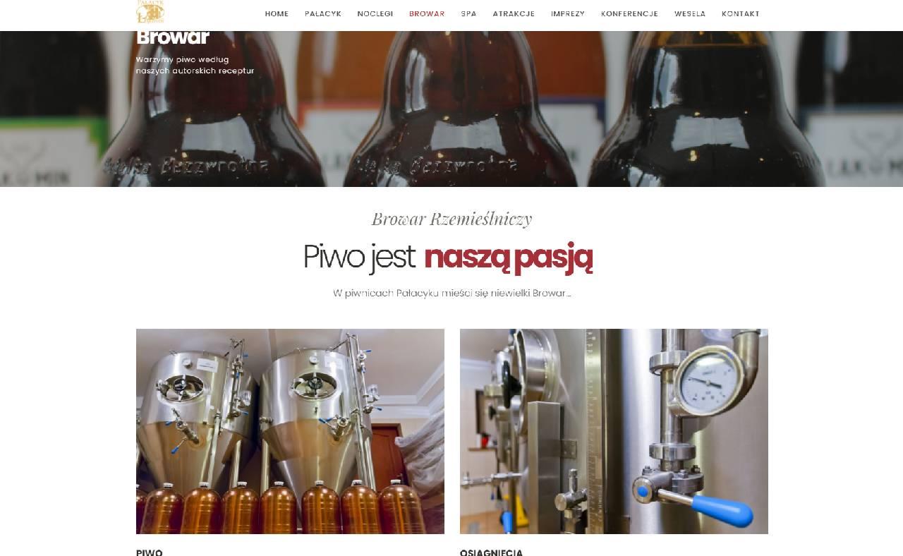 ROAN24 Pałacyk Łąkomin Browar-websted