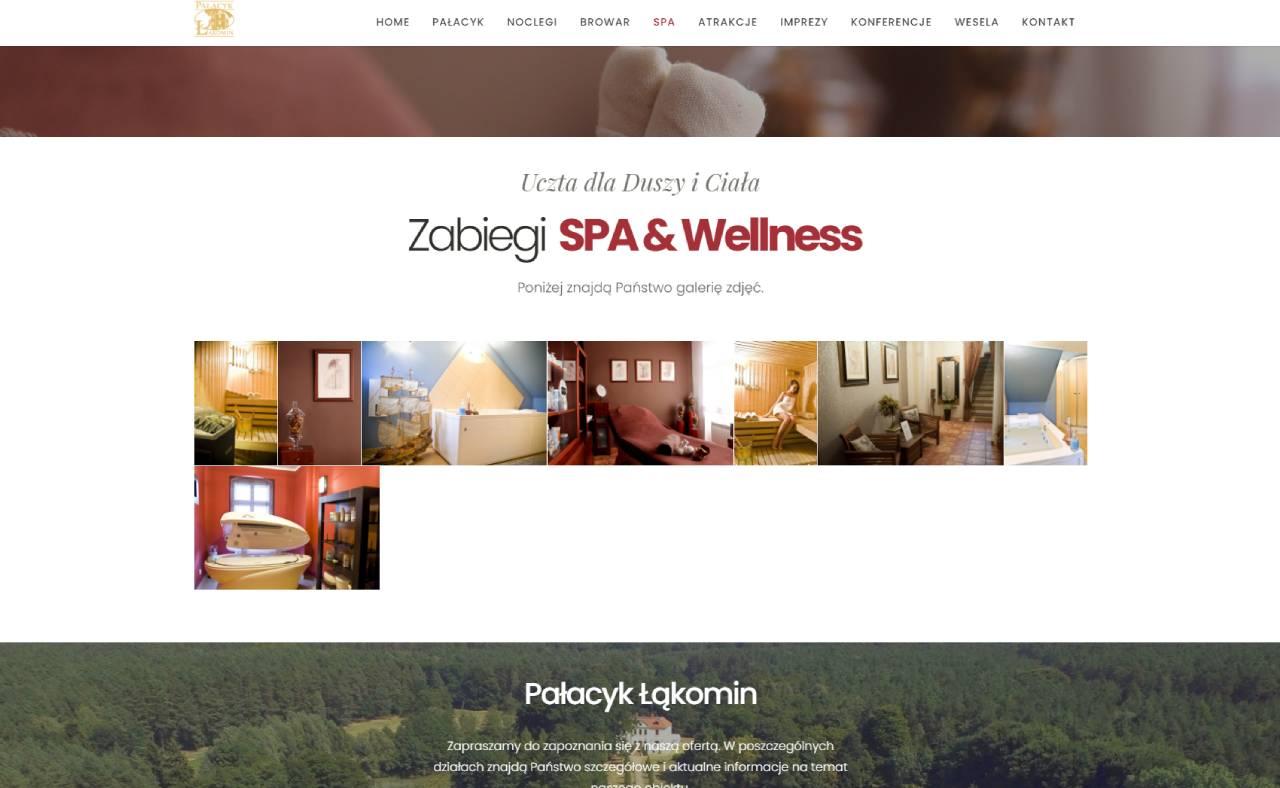 ROAN24 Pałacyk Łąkomin SPA-websted