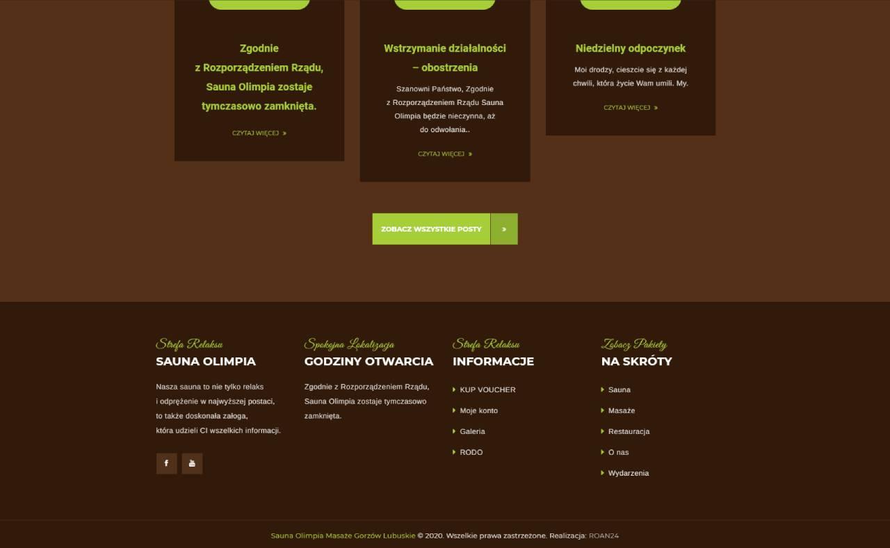 ROAN24 Sauna Olimpia HJEM Webstedets aftryk