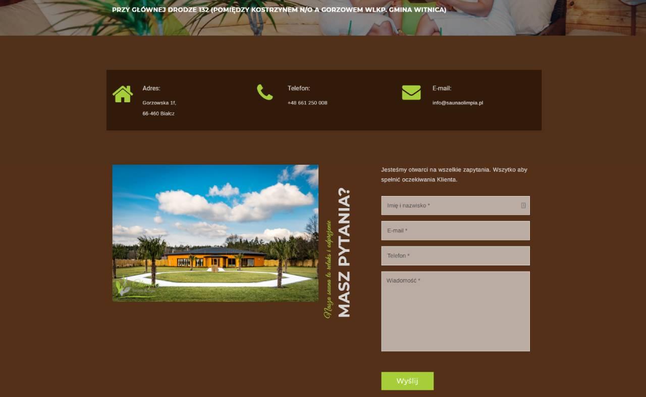 ROAN24 Sauna Olimpia Hjemmeside Kontakt