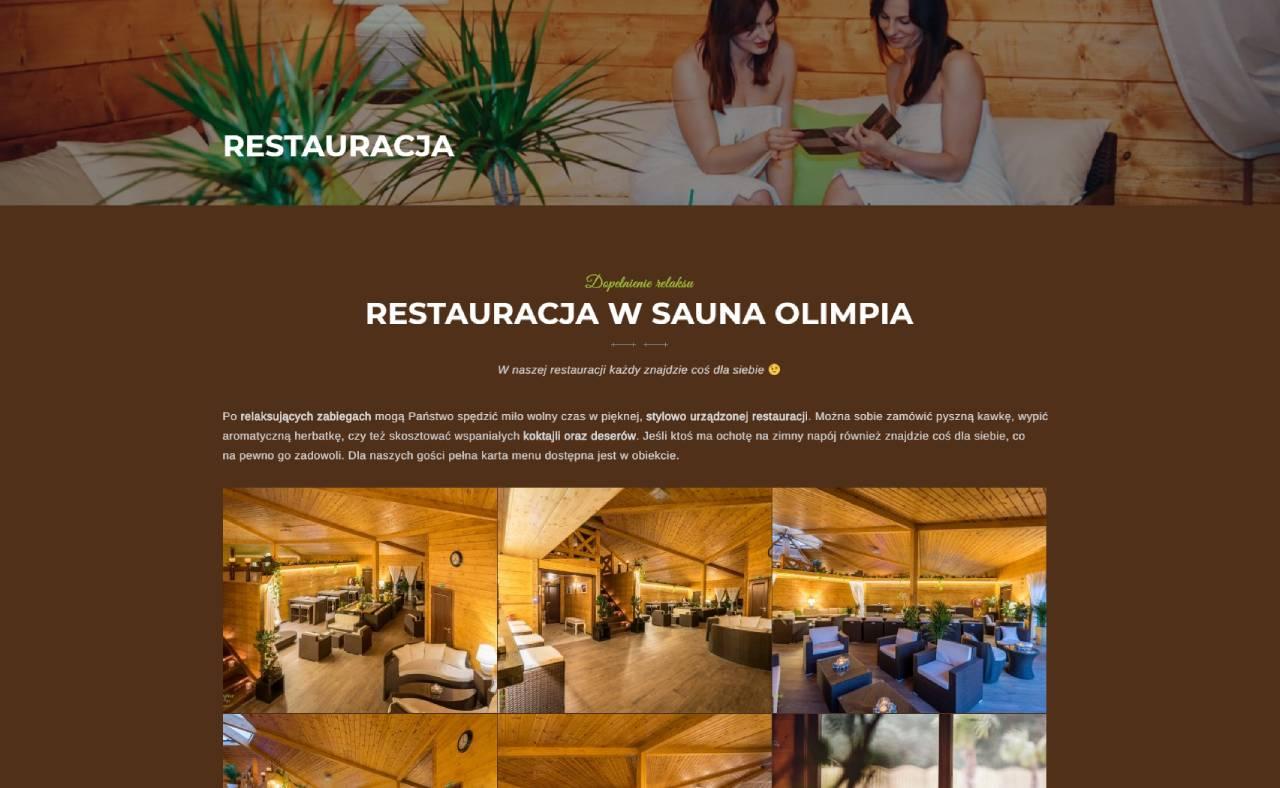 ROAN24 Sauna Olimpia Restaurantens websted