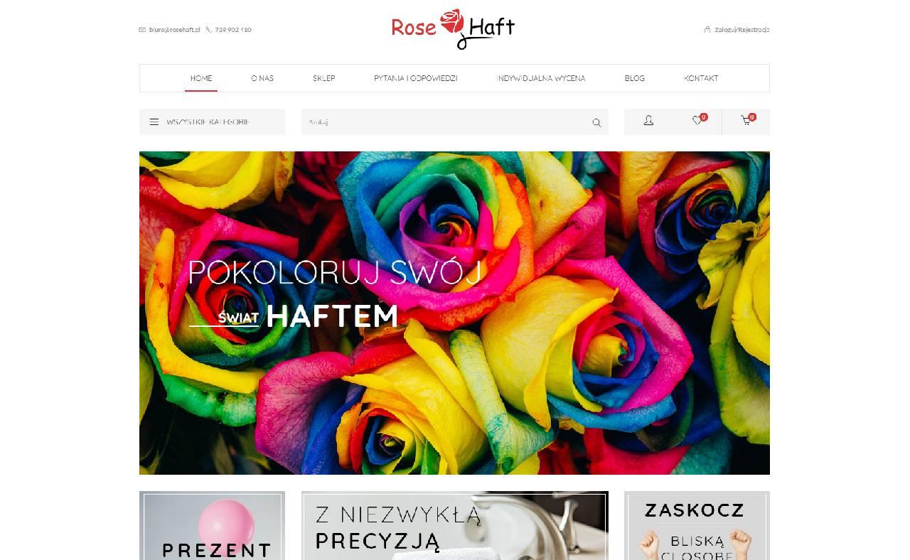 ROAN24 Rose Broderi HJEM onlinebutik